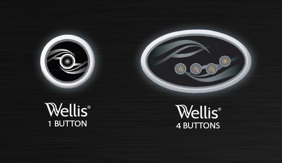 Whirlpool Wellis AUX Steuerung