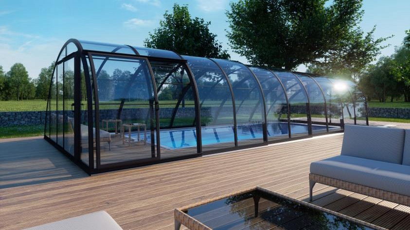 Pool-Halle / Schwimmbad-Halle SkyCover® Vision Pool-Halle / Schwimmbad-Halle SkyCover® Vision