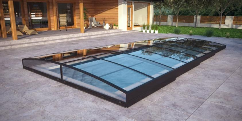 Pool-Überdachung / Poolabdeckung SkyCover® Neo Clear Pool-Überdachung / Poolabdeckung SkyCover® Neo Clear