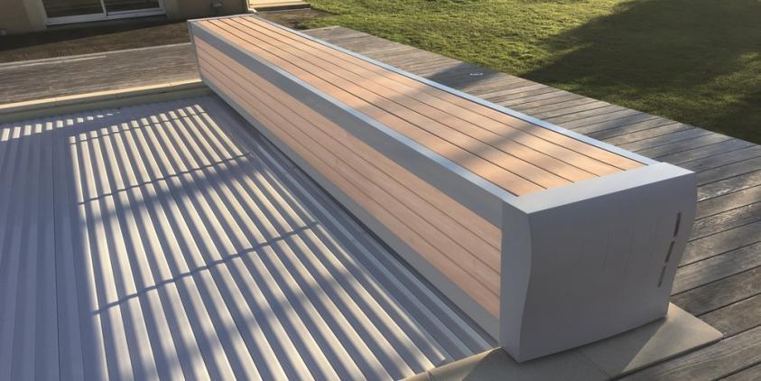 Pool-Rolladenabdeckung elektrisch Rolladenabdeckung für Pool - automatische & elektrische Pool Abdeckungen