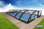 Albixon Klasik Clear C 501x1060cm Pool-Überdachung / Schwimmbad-Überdachung