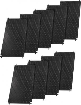 Pool-Solarheizung / Pool-Solaranlage SPL-72000 Solar Premium Line 19,98m² Absorber Komplettset, bis 72.000L