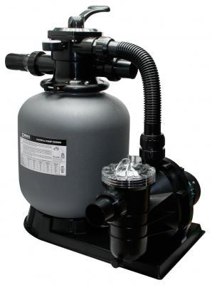 Sandfilter-Komplettanlage Brilix FSP-450 für 50m³ Pool / Schwimmbad