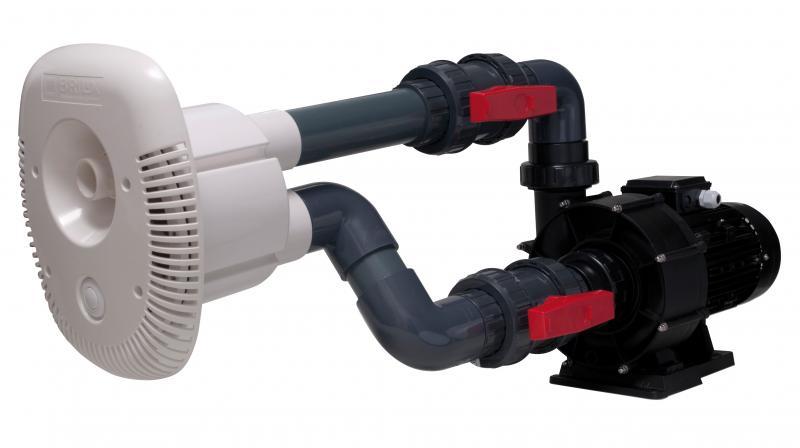 Brilix Pool-Gegenstromanlage Elegance 70, 400V, 70m³/h