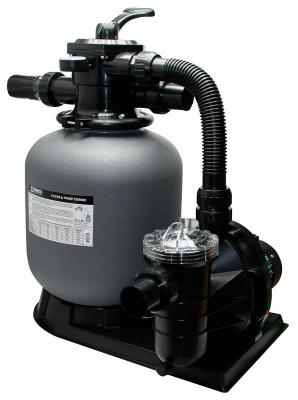 Sandfilter-Komplettanlage Brilix FSP-350 für 25m³ Pool / Schwimmbad