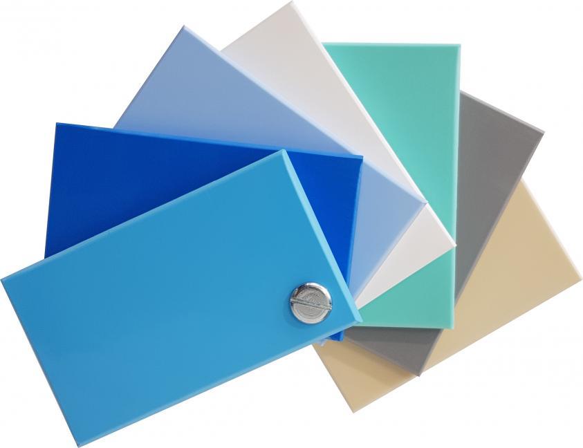 Farbmuster / Materialmuster Premium ONE Pool