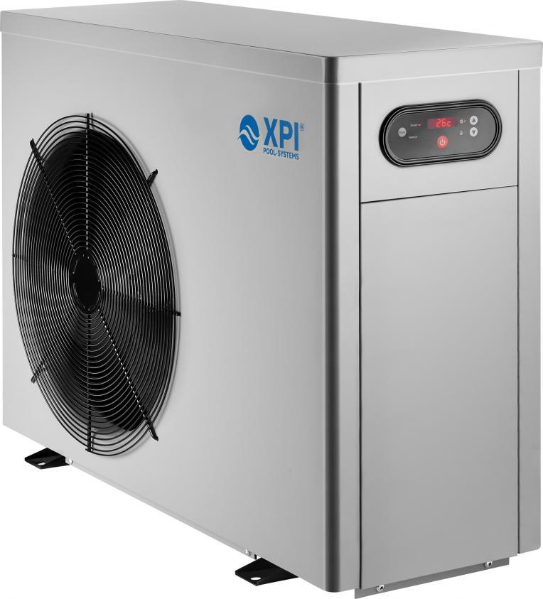 Bypass Set Poolheizung Eco Luft Wasser Wärmetauscher Pool Wärmepumpe 12 kw inkl
