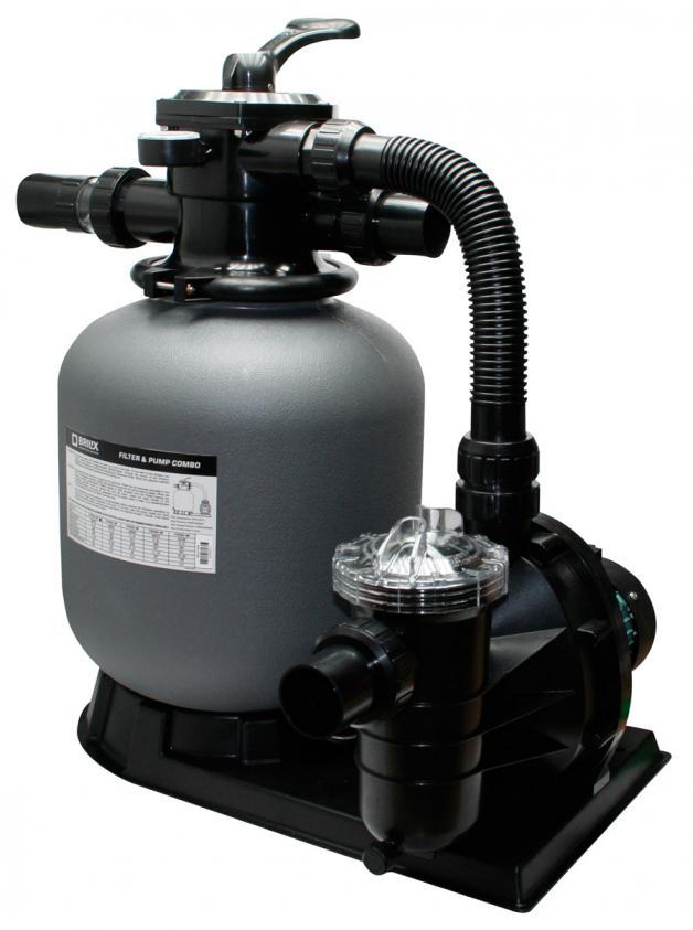Sandfilter komplettanlage brilix fsp 650 f r 100m pool for Gunstige pools mit pumpe