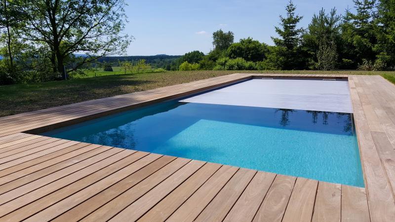 pool komplettset premium one mit elektrischem rolladen skimmer pool und technik 4 00 x 10 00 x. Black Bedroom Furniture Sets. Home Design Ideas