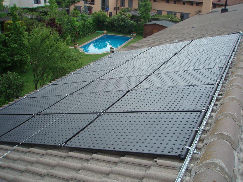 Pool-Solarheizung / Pool-Solarabsorber OKU SOLAR10SET 5,6m² Absorber-Komplettset, bis 10m² Wasseroberfläche
