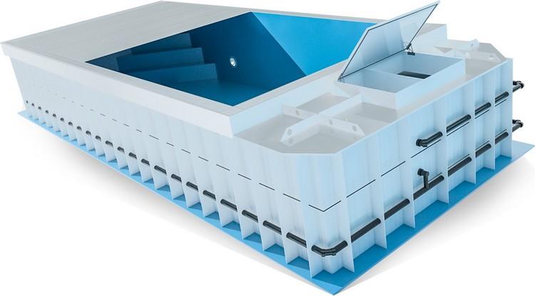 pool komplettset premium one mit elektrischem rolladen skimmer pool und technik 3 00 x 6 00 x. Black Bedroom Furniture Sets. Home Design Ideas