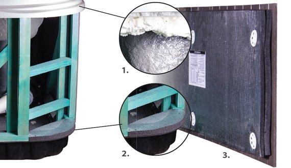 Whirlpool Wellis Premium Isolierung