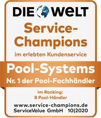 Test Vergleich Poolbauer Hersteller Testbericht Pool Komplettset Wärmepumpe Überdachung